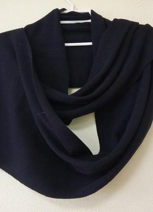 Качественный, брендовый, длинный трикотажный шарф. jack&jones....