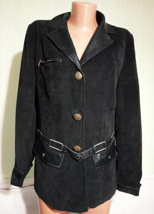 Пиджак-куртка стильный,микровельветовый. раз.48