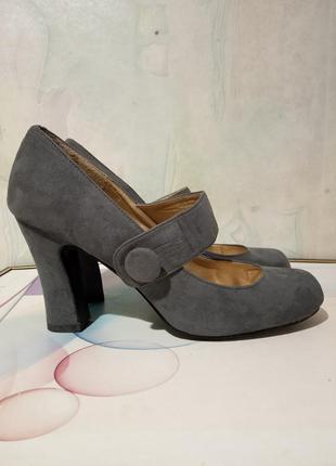 Стильные, удобные туфли bonprix  из искусственного замша. разм...