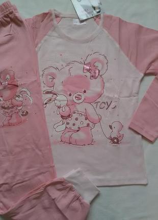Пижамы для девочек vienetta secret yf 3-4 года