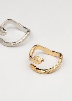 """Кольцо со змейкой """"snake"""", кольцо змея"""