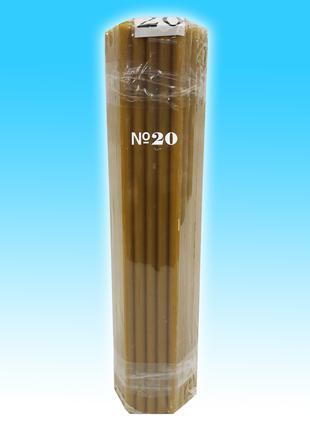 Свеча восковая 1 кг № 20