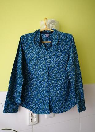 Стильная рубашка в цветочный принт laura scott