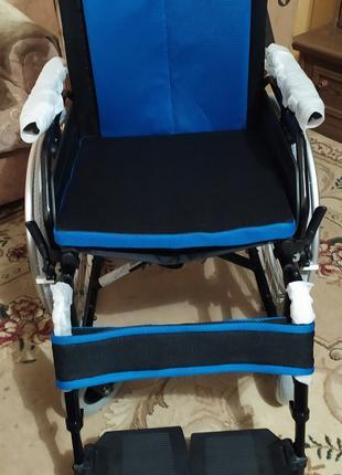 Стально-алюминиевая инвалидная коляска Vitea  Care VCWК9AС Польша