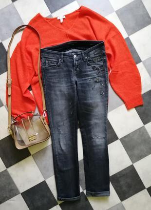 Liu diamond swarovski cambio jeans джинсы с камнями сваровски ...
