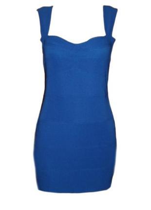 Платье в обтяжку облегающее с вырезом на спине нарядное размер...