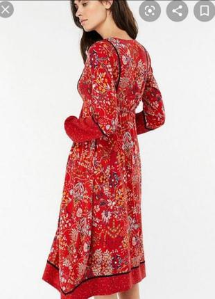 Миди платье цветочный принт от monsoon