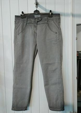 Женские штаны джинсы большого размера