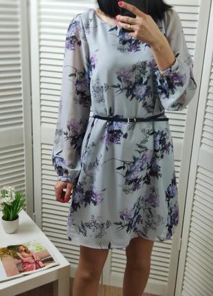 Платье в цветочный принт atmosphere, uk 10/s
