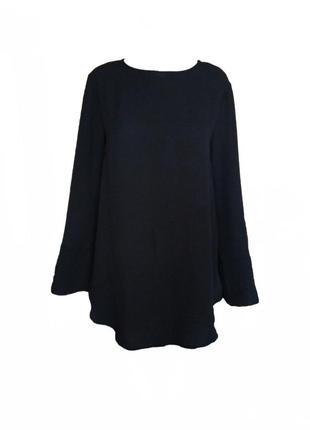 Туника рубашка блуза кофточка свободного кроя шифон h&m размер...