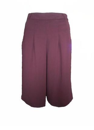 Классные кюлоты river island, брюки юбка, широкие брюки размер...