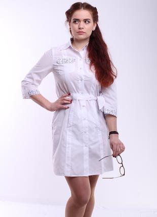 Женский медицинский халат № 165
