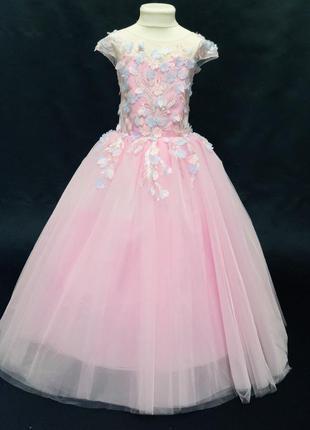 Красивое бальное платье для девочки