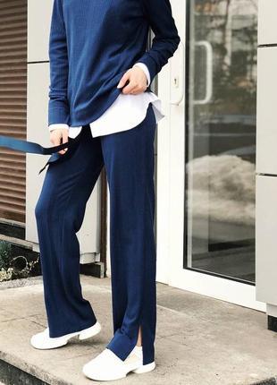 Шикарный весенний спортивный брючный костюм прогулочный брюки ...