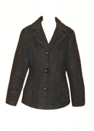 Шерстяное пальто s.oliver, короткое пальто полупальто размер н...