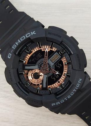 Часы Casio G-Shock GA-110 Black-Cuprum