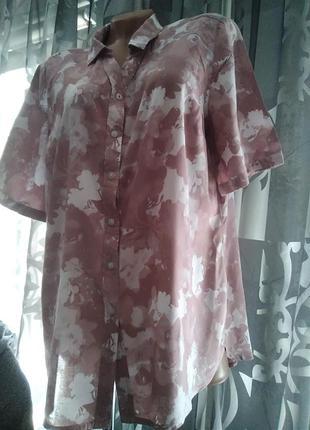 Интересная, блузка, большого размера