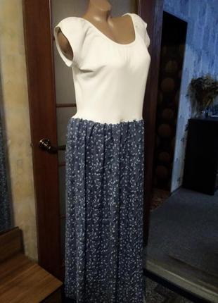 Классное, летнее платье, большого размера