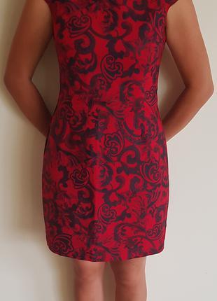 Платье красное Cos ( Стокгольм) 40 размер