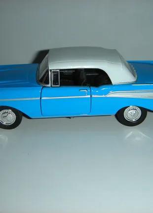 Машинка металлическая 1957 CHEVROLET BEL AIR.