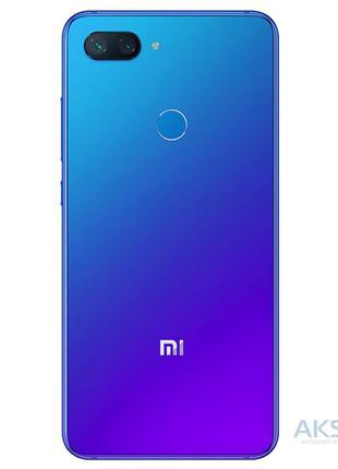 Задняя крышка корпуса Xiaomi Mi 8 Lite Blue