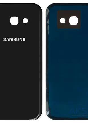 Задняя крышка корпуса Samsung Galaxy A5 2017 A520F Black