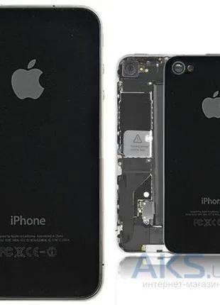 Задняя крышка iPhone 4S Black