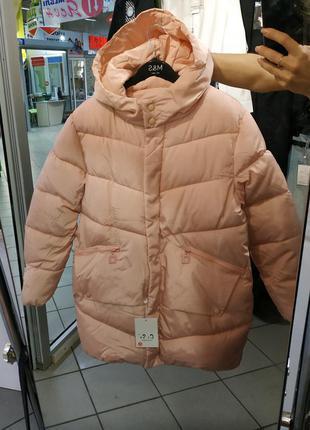 Теплая куртка свободного кроя