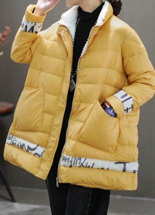 Оригинальная куртка свободного кроя