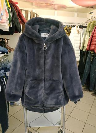 Меховая куртка искусственная шуба