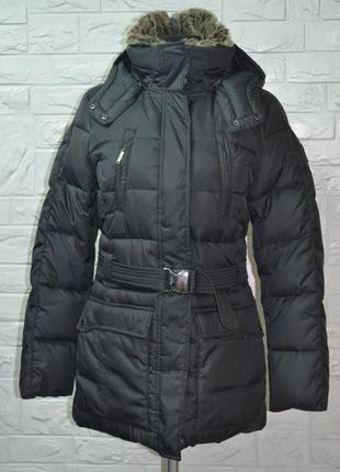 Тёплая зимняя куртка с мехом
