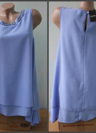 Шикарная блуза с украшением george