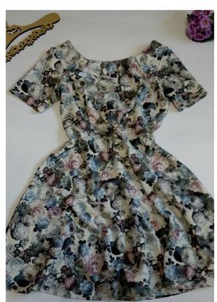 Платье 46 размер мини короткое нарядное крутое распродажа 14 ф...