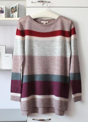 Легкий свитер с шерстью и мохером в составе от esprit
