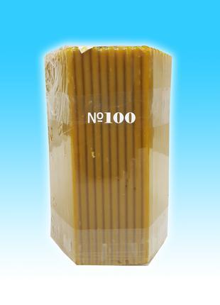Свеча восковая 1- кг. №100