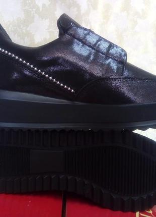 Распродажа!стильные кожаные ботильоны под кроссовки terra gran...
