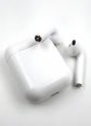 Беспроводные Bluetooth наушники с кейсом и чехлом I9S White - 223