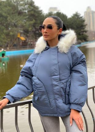 Женская куртка OVERSIZE