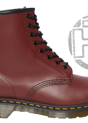 Оригинальные мужские ботинки dr martens 1460 smooth cherry red...