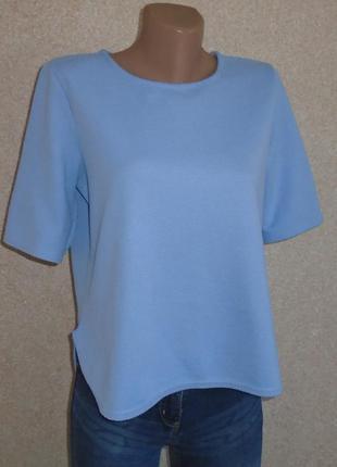 Фактурная нарядная блуза-футболка ткань кукуруза/блузка/кофта