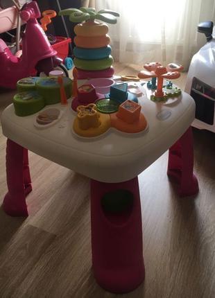 Детский игровой стол Smoby Toys Cotoons.Цветочек
