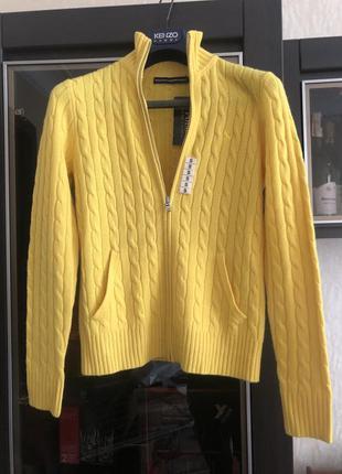 Кашемировый свитер кофта ralph lauren оригинал новый