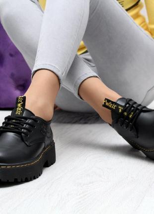 Новиночка черные туфельки