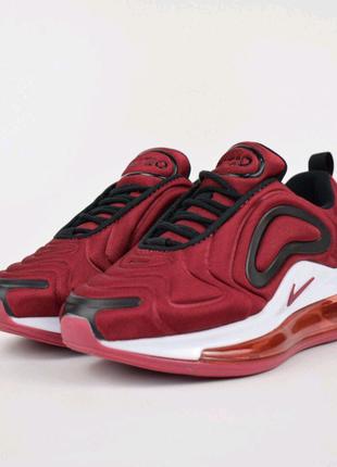 Женские кроссовки Nike Air Max 720 бордовые