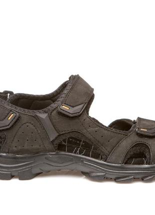 Босоножки сандалии женские кожаные nwl19111 black