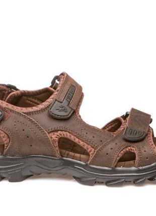 Босоножки сандалии женские кожаные nwl19117 brown