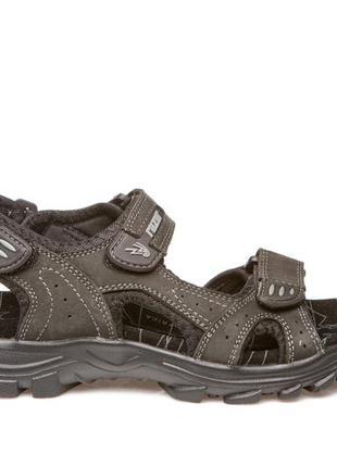 Босоножки сандалии женские кожаные nwl19117 black