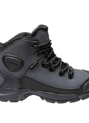 Зимние мужские ботинки из натурального нубука на меху restime ...