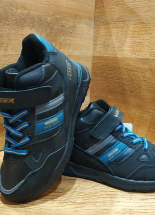 Кроссовки ботинки зимние детские кожаные veer р. 31-34