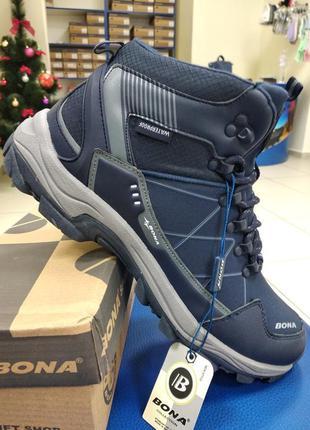 Ботинки мужские зимние bona р. 43 waterproof на меху
